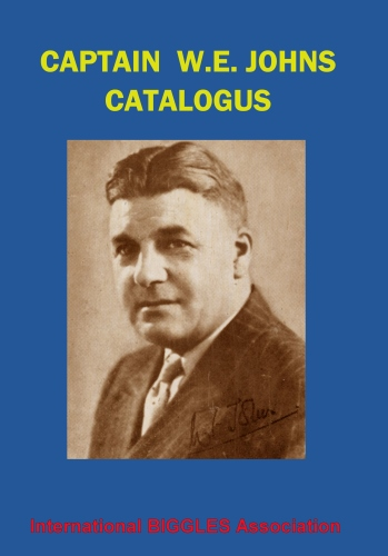 Captain W.E. Johns Catalogue (hardback)